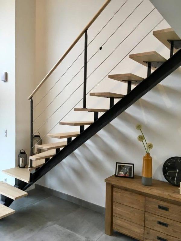 escalier limon IPN 6